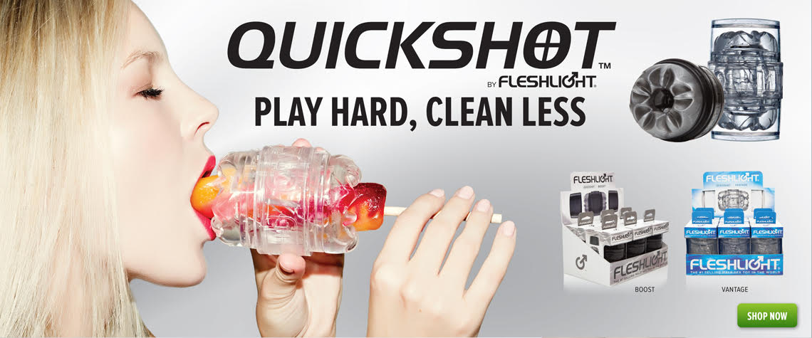 The brand new Fleshlight Quickshot